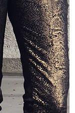 Mango snake print pants