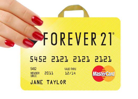 Forever 21 Mastercard