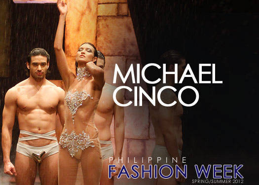 Michael Cinco At Philippine Fashion Week Spring/summer 2012