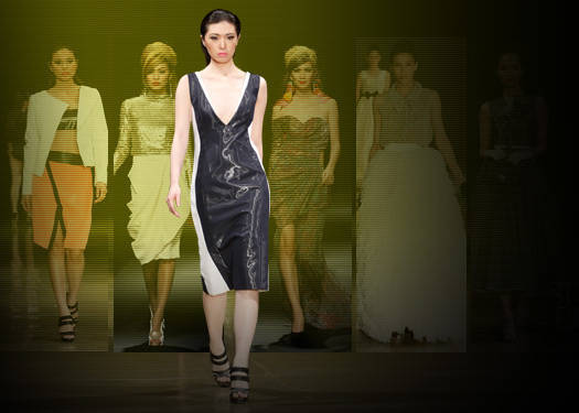 Philippine Fashion Week Spring/summer 2012: Ang, Crisostomo, Jimenez & Esac