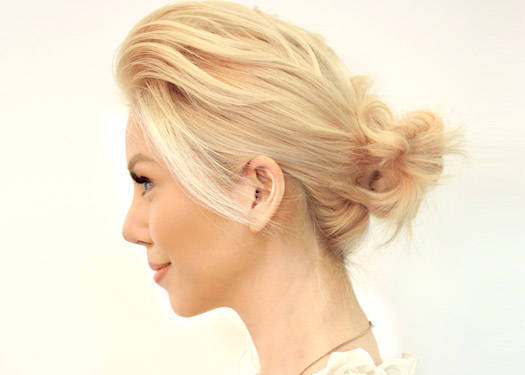 Look We Love: The Messy Bun
