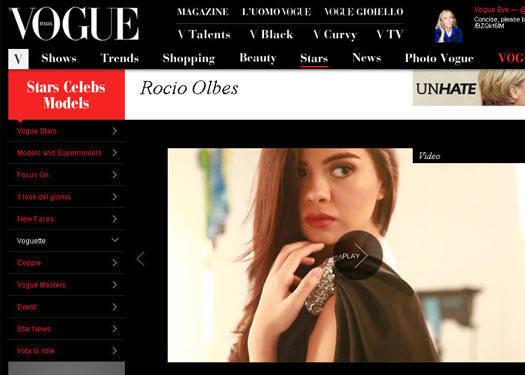 Rocio Olbes On Vogue.it