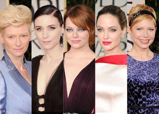 Golden Globes 2012: Best Tressed