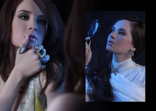 Lucy Torres-gomez For Jul B. Dizon Jewellery