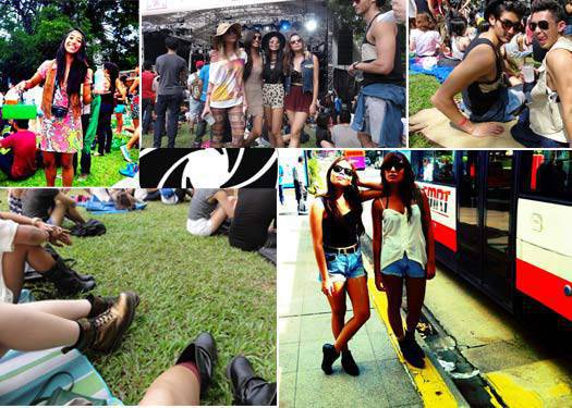 Trend Spotting At The Laneway Festival