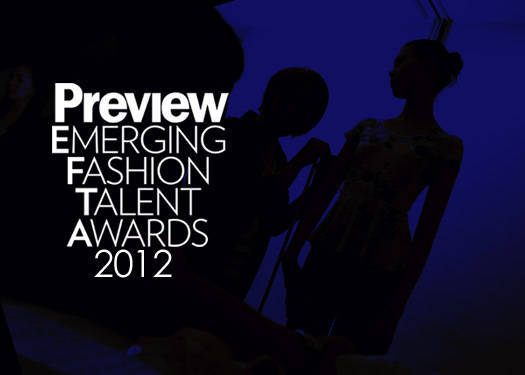 Preview Emerging Fashion Talent Awards 2012