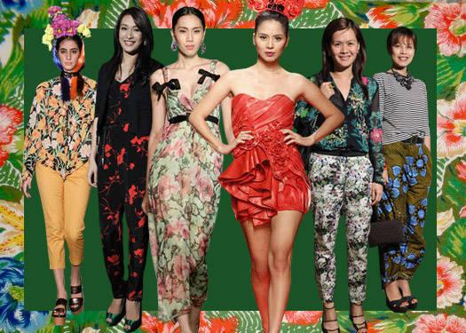 Trend Spotting: Oversized Florals