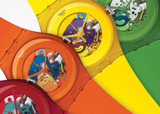 Swatch Launches New Collections For 2012