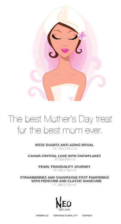 Neo Spa Mother's Day Packages