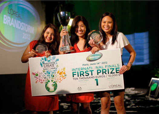Team Philippines Wins L'oreal Brandstorm