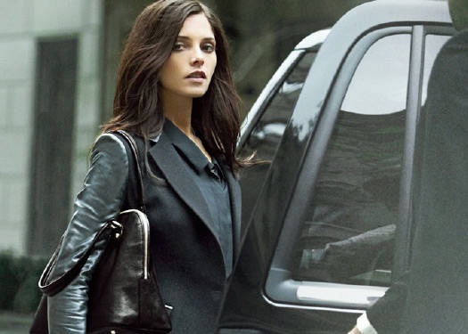 Ashley Greene's Fall 2012 Dkny Campaign