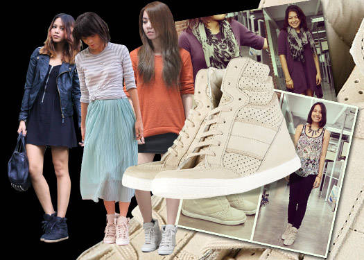 Trend Spotting: Wedge Sneakers