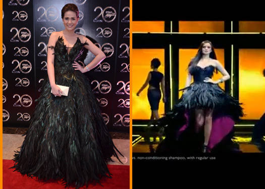 Who Wore It Better: The Feather Frock