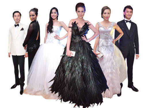 Designers For The Star Magic Ball 2012