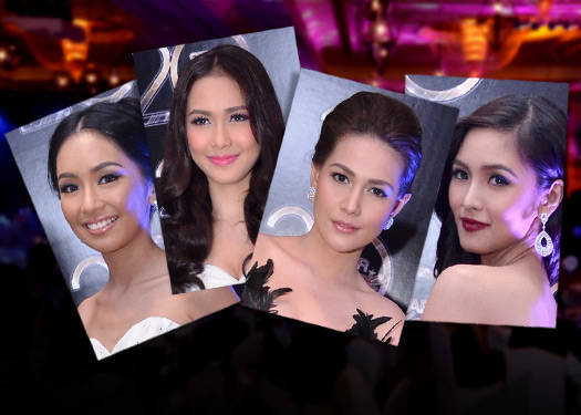 Top 10 Beauty Looks From The Star Magic Ball 2012