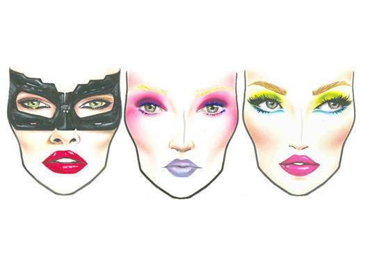 Exclusive: Mac Halloween Face Charts 2012