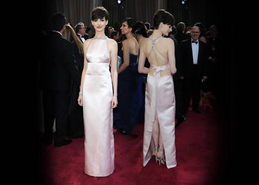 Anne Hathaway's Prada Dress