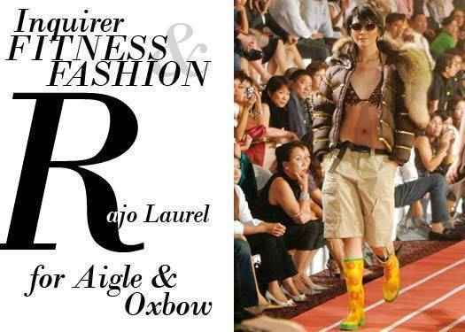 Inquirer Fitness & Fashion: Rajo Laurel For Aigle And Oxbow