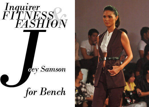 Inquirer Fitness & Fashion: Joey Samson For Bench