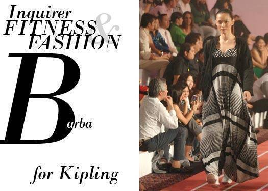 Inquirer Fitness & Fashion: Vic Barba For Kipling