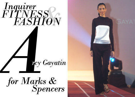 Inquirer Fitness & Fashion: Arcy Gayatin For  Marks & Spencer