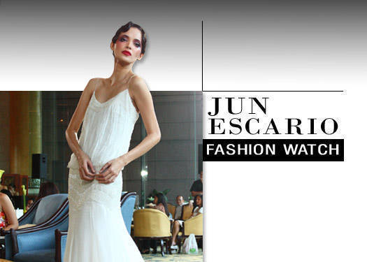 Fashion Watch: Jun Escario (part 1)