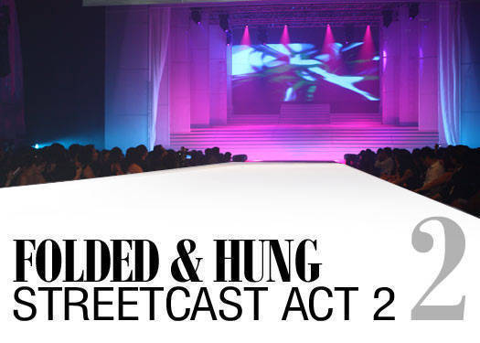 Folded & Hung Streetcast Act 2.2