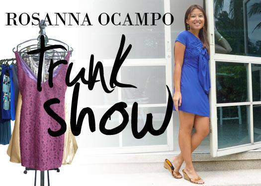 Rosanna Ocampo's Trunk Show