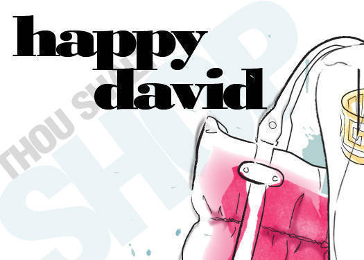 Happy David