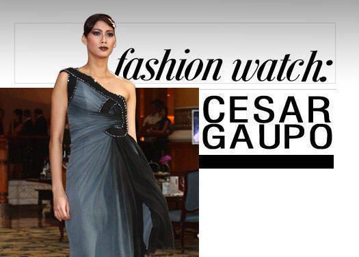 Fashion Watch: Cesar Gaupo 1