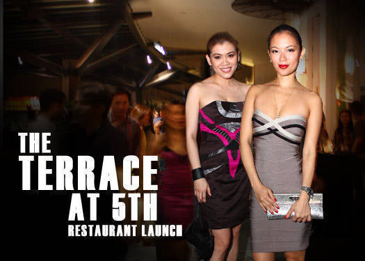 The Opening Of The Terrace At 5th
