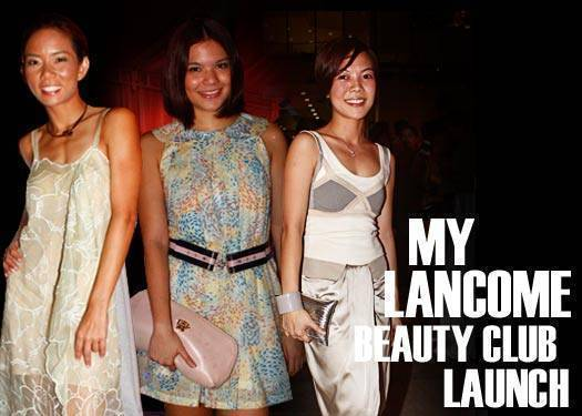 My Lancome Launch