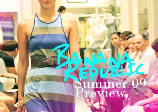 Banana Republic Summer '09 Preview 1