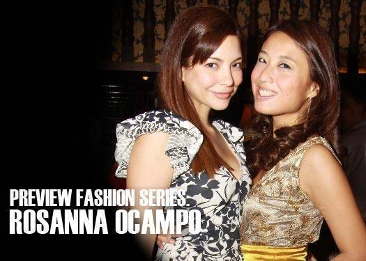 Prive Fashion Series: Rosanna Ocampo