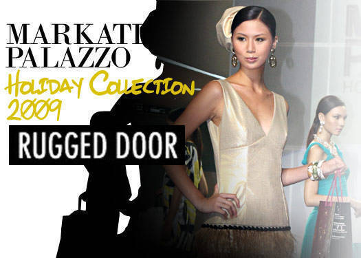 Markati Palazzo Holiday Collection: Rugged Door