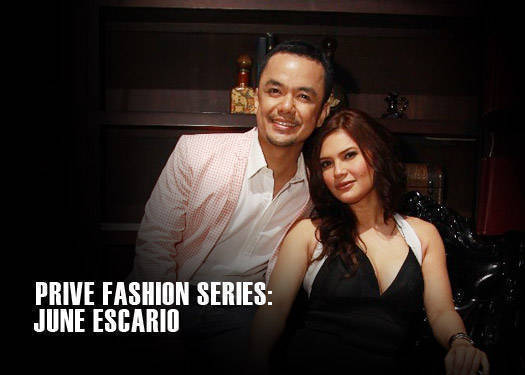 Prive Fashion Series: Jun Escario
