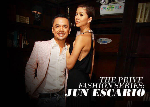 Prive Fashion Series: Jun Escario 1