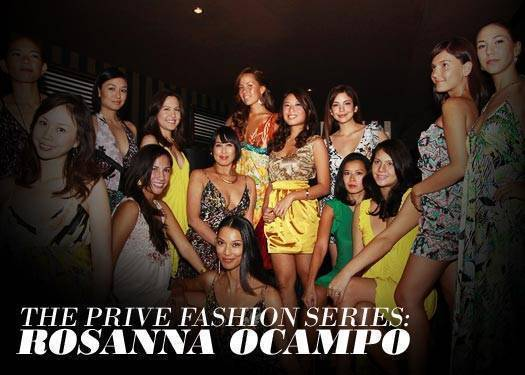 Prive Fashion Series: Rosanna Ocampo 1