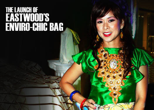 The Launch Of Eastwood's Enviro-chic Bag