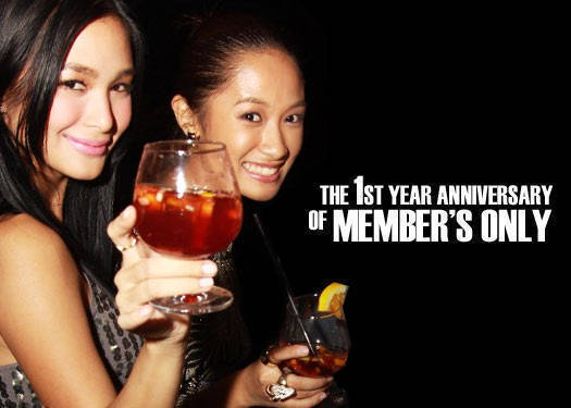 Members Only 1st Year Anniversary