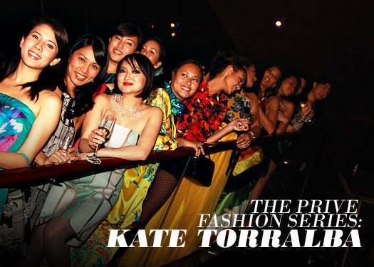 Prive Fashion Series: Kate Torralba