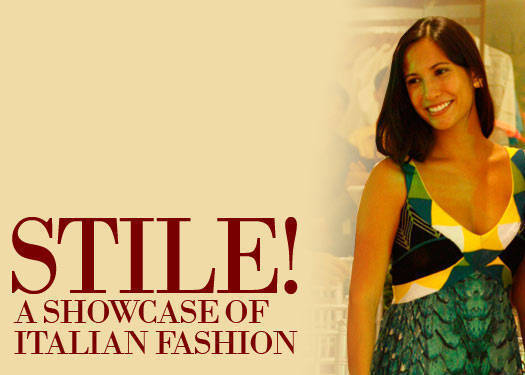 Stile! A Showcase Of Italian Fashion