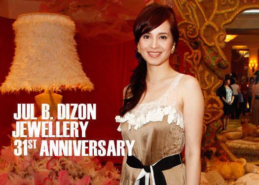 Jul B. Dizon Jewellery 31st Anniversary