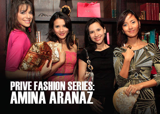 Prive Fashion Series: Amina Aranaz