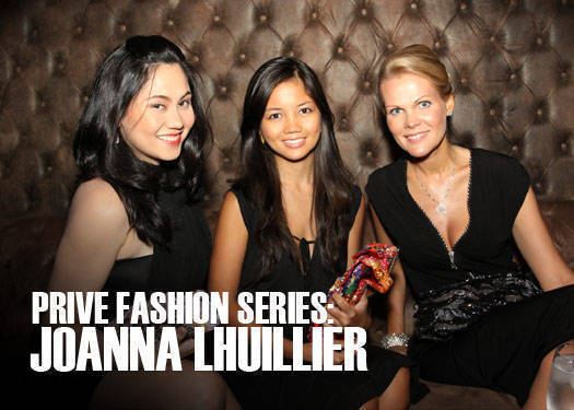 Prive Fashion Series: Joanna Lhuillier