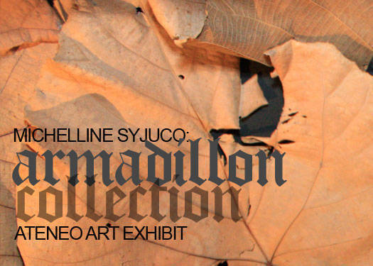 Michelline Syjuco: Armadillon Collection At The Ateneo Art Awards Exhibit