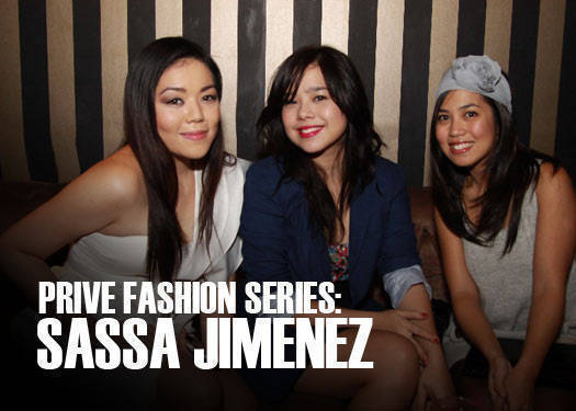 Prive Fashion Series: Sassa Jimenez