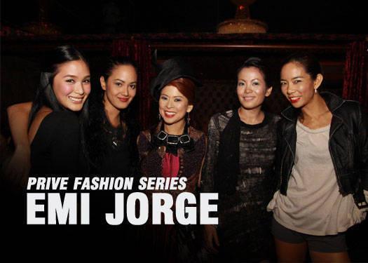 Prive Fashion Series: Emi Jorge 1