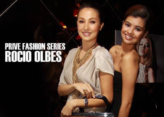 Prive Fashion Series: Rocio Olbes