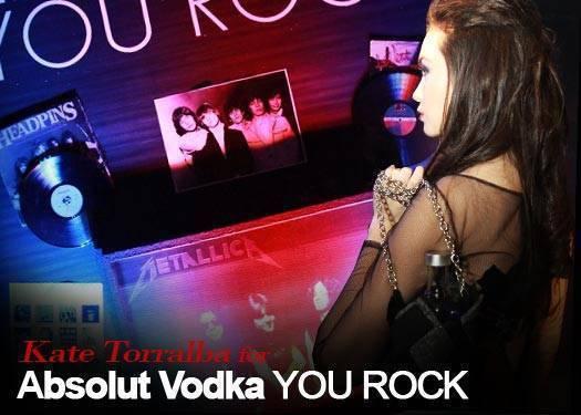 Kate Torralba For Absolut Vodka You Rock